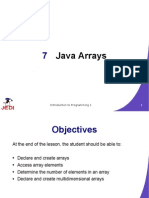 JEDI Slides Intro1 Chapter 07 Java Arrays