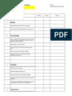 Iso Checklist Rev02
