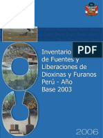 Inventario nacional de dioxinas y furanos