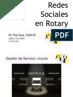 Redes sociales en Rotary