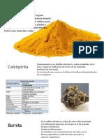 sulfuros, halogenos por clasificación de Strunz