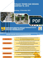Arahan Petunjuk Teknis DAK Bidang Sanitasi