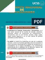 Reglamento Nacional de Edificaciones- Expo