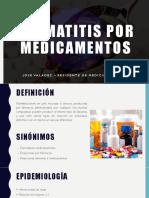 Dermatitis Por Medicamentos Ultima