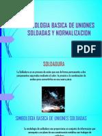 Simbologia Basica de Uniones Soldadas y Normalizacion