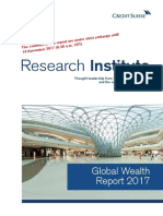 CS Global Wealth Report 2017