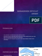 Managemen Difficult Airway(1)
