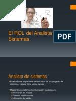 1 El Rol Del Analista de Sistemas