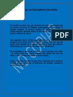 Edicion de Un Documento en Word