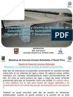 DOEST_M4_T2_P3_Vigas de Secci�n T de Concreto Armado Simplemente Armada