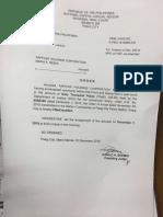 Maria Ressa Release Order