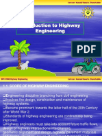 Chapter 1 - Introduction to Highway Engineering