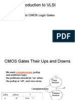 Introduction to VLSI Static CMOS Logic Gates