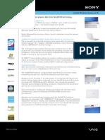 VGN-FW140EW spec sheet FINAL