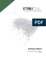 Etabs output Trial