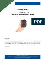 ThermalTronix TT 1010MD FTM Datasheet - TEST AND MEASUREMENT INSTRUMENTS