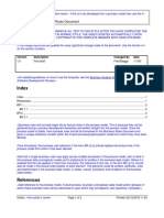 Business Rules Document Template