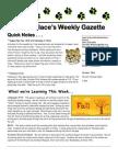 newsletter 10-18-10