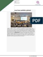 Nistri, sicurezza bene pubblico globale - Ansa.it, 30 novembre 2018