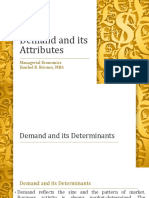 Demand and Its Attributes