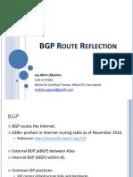 [20161110] Makito - BGP Route Reflection