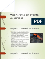 Magnetismo en Eventos Volcánicos