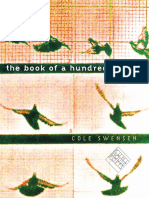 Cole Swensen - The Book of a Hundred Hands.pdf
