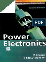 M D Singh K B Khanchandani Power Electronics