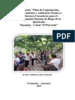 Propuesta de Capacitación en cacao