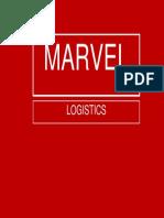 Fake Marvel Logistics logo