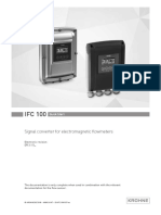 User Manual - IFC 100 Flow Meter