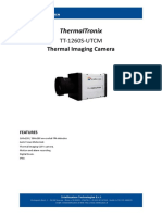 ThermalTronix TT 1260S 160 UTCM Datasheet - THERMAL CAMERAS
