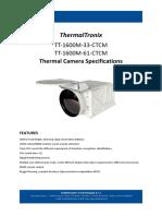 ThermalTronix_TT-1600M-33-CTCM _Datasheet - THERMAL CAMERAS