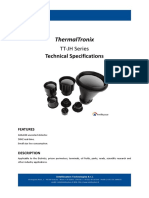 ThermalTronix TT JH Series Datasheet - THERMAL CAMERAS