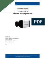 ThermalTronix TT 1260S 384 UTCM Datasheet - THERMAL CAMERAS