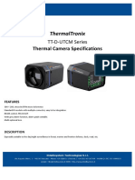 ThermalTronix TT-D-UTCM Series Datasheet - THERMAL CAMERAS