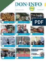 Journal Pdf de Novembre de l'association verdoninfo