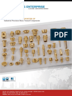 Overview of Brass inserrts Products and view brochures - Venus Enterprise