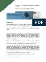 A Reforma Trabalhista - Texto e Comentários