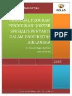 Cover Proposal Program Pendidikan Dokter Spesialis