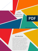 Frequently asked Linq Interview Questions for freshers