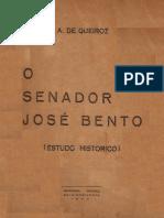 O SENADOR JOSÉ BENTO - ESTUDO HISTÓRICO