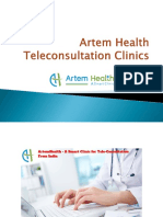 Artem Health Tele Consultation Clinics