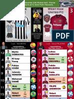 Premier League week 14 181201 Newcastle - West Ham 0-3