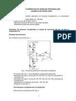 Oscilator semnal triunghiular -   exemplu de proiectare.pdf