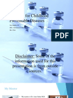 vaccines for childhood preventable diseases  final