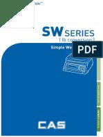 SW-1N Owners Manual
