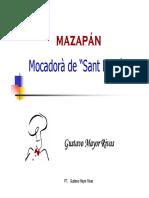 (El Mazapán)