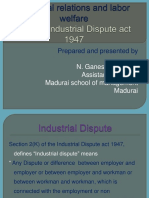Unit 2 Industrial Dispute
