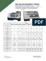 TNN CNC Lathe Machine Catalogue